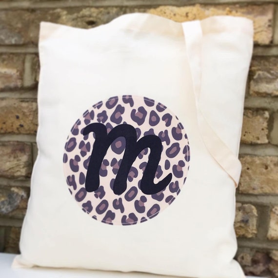 Tote bag | Personalised tote | Leopard print bags | Gift bag | Hen party | Teacher tote bag | Wedding totes