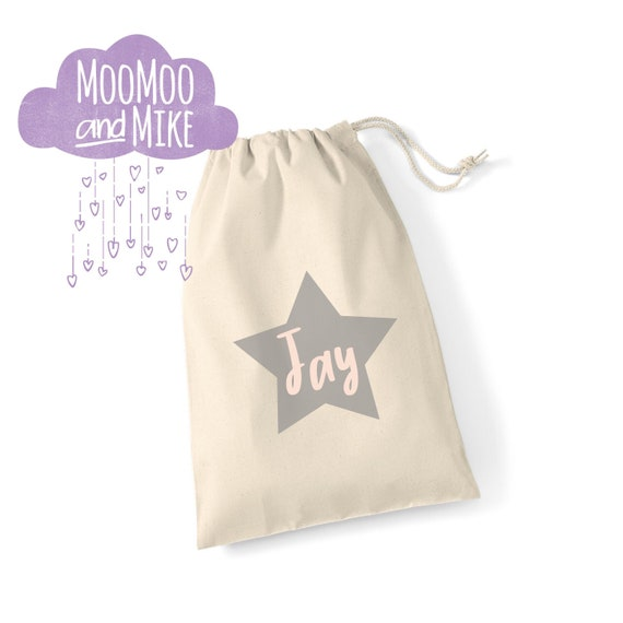 Personalised gift bag | Wedding gift gift bags | Drawstring bags | Childrens bags