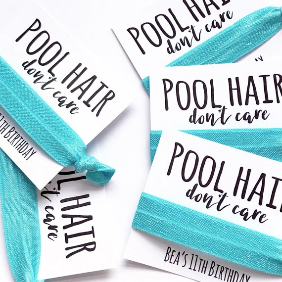 Custom hair ties   Add any text   Hair ties   Customisable elastic hair tie   Favours   Hen party favours   Personalised favours