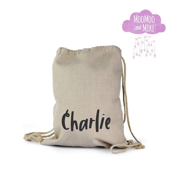 Personalised drawstring bag   Childrens backpack   School bags   P.E bag   Gym bag   Gift bag