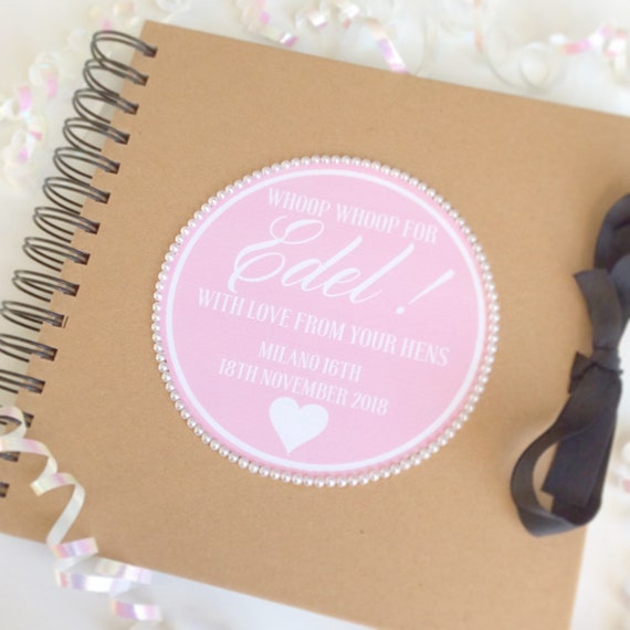 Personalised Scrapbook | Weddings | Birthday scrapbook | Memories | Guest book | Journal for Bride's | Photo album/scrapbook.