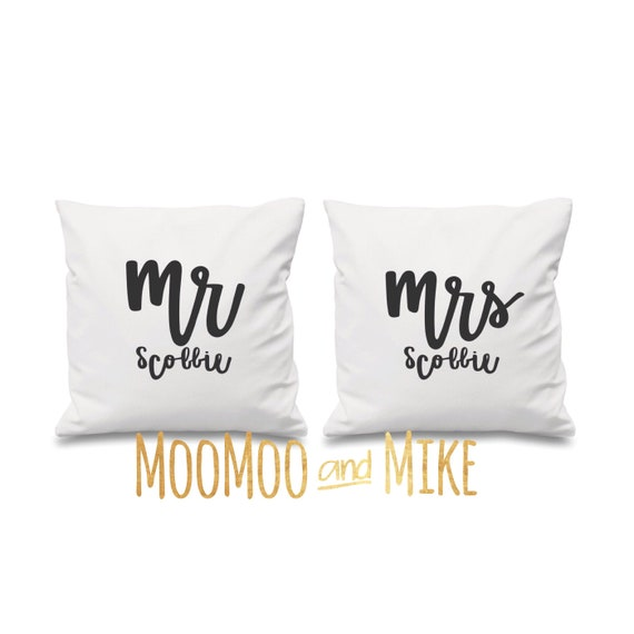 Personalised cushion cover | Couple cushion's | Personalised pillows | Bedroom decor | Home decor