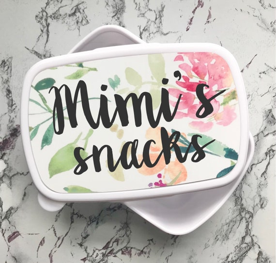 Personalised lunch box | Child's lunchbox | Lunch boxes | School lunch box | Back to school gifts | Snack box