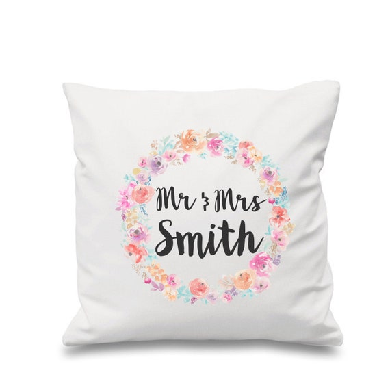 Decorative cushion cover | Wedding cushion | Personalised pillows | Bedroom decor | Home decor