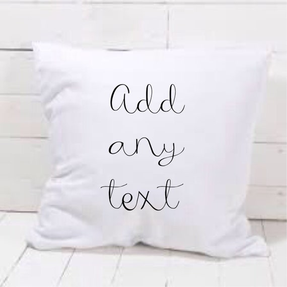 Personalised cushion cover | Add any text | Family cushion | Personalised pillows | Bedroom decor | Home decor