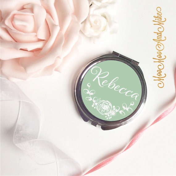 Compact Mirror | Gifts for brides | Women's Accessories | Pocket Mirror | Made to order