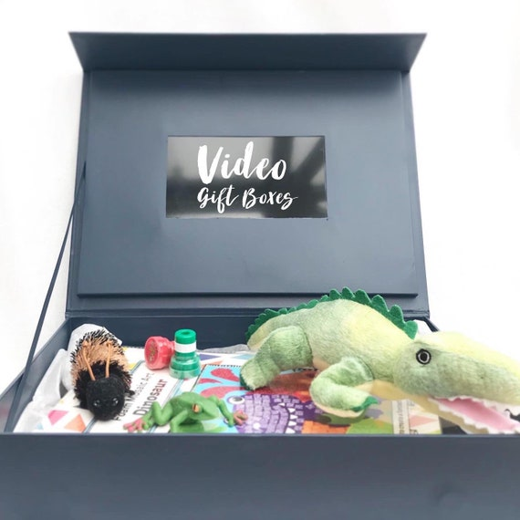Custom hardcover video box | Memory box | Gift box with video | New baby gifts | Wedding gift | Memory Keepsake boxes