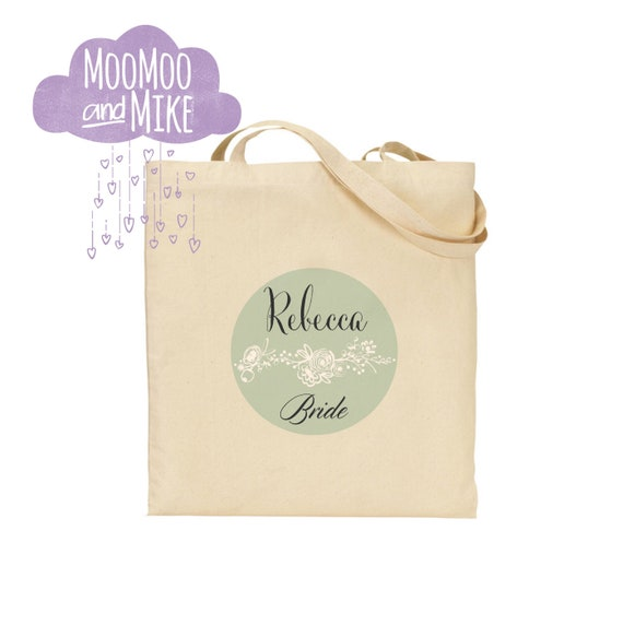 Tote bag | Bride bag | Wedding bag | Hen party | Maid of honour | Gift bags | Bridesmaid gift bag