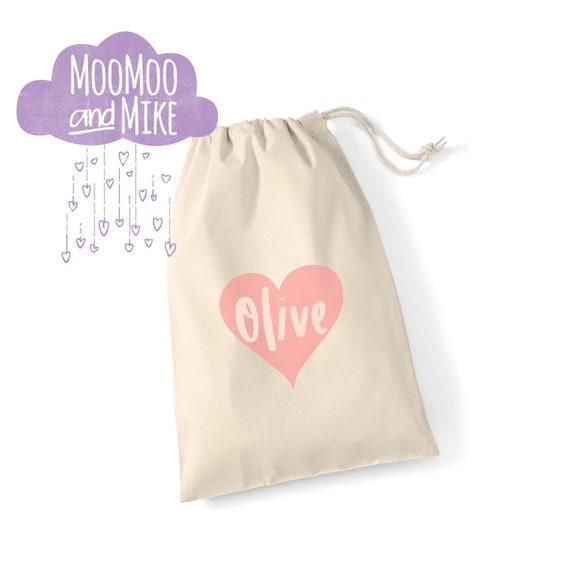 Children's gift bag | Favour bag | Keepsake bag | Wedding gift bag | Drawstring bags