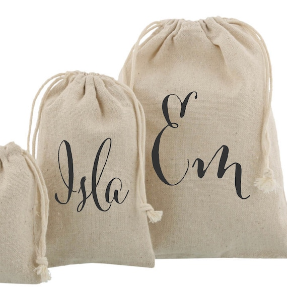 Personalised drawstring bags Hangover kit bags   Add any text   Party bag   Favour bags