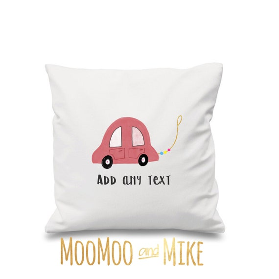 Children's pillow | Decorative cushion cover | Children's cushion | Nursery decor | Personalised pillows | Bedroom decor | Home decor