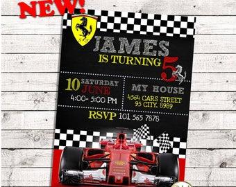 Ferrari Birthday, ferrari invitation, ferrari party, ferrari birthday invitation, ferrari invite, ferrari card, ferrari cars, ferrari card