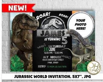 JURASSIC WORLD invitation,jurassic invitation,jurassic park invitation,jurassic world party,jurassic world birthday,jurassic world,jurassic