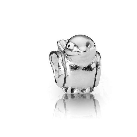 charm on lobster clasp clip on charm ancient bronze little bird, 1.3x1.6cm bracelet charm zipper pull Cute little bird charm