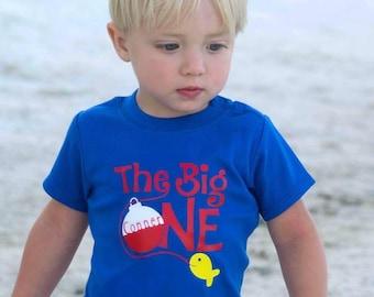 First birthday fishing shirt, Fishing birthday shirt, first birthday fishing, 1st birthday fishing theme, boy first birthday shirt, boy 1st