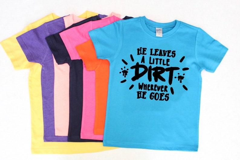 d3140b03 Dirt shirt boys shirts with sayings funny boy shirts | Etsy