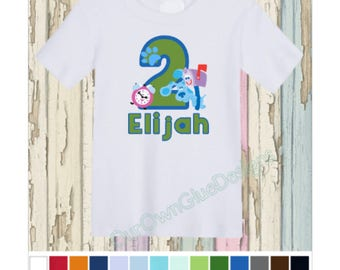 Blue's Clues Birthday Unisex Birthday Shirt Personalize any name, any age