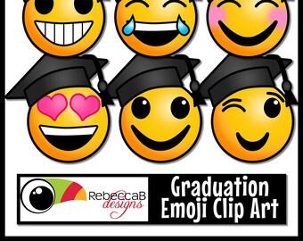 Emoji graduation | Etsy