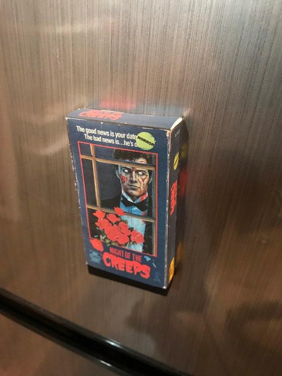 Night Of The Creeps VHS Horror keychain 80's Horror