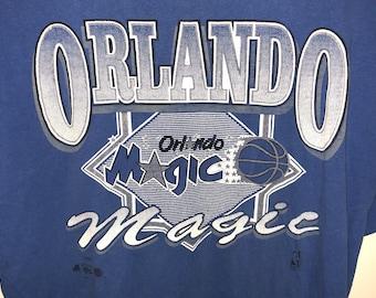 Vintage 90s Orlando Magic NBA basketball shirt L