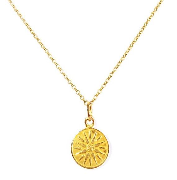 Greek Vergina Sun Pendant Necklace, Vergina Sun, Greek Jewelry, Greek  Necklace, Greek Pendant, Symbolic Pendant, Sun Charm, Greek God Helios