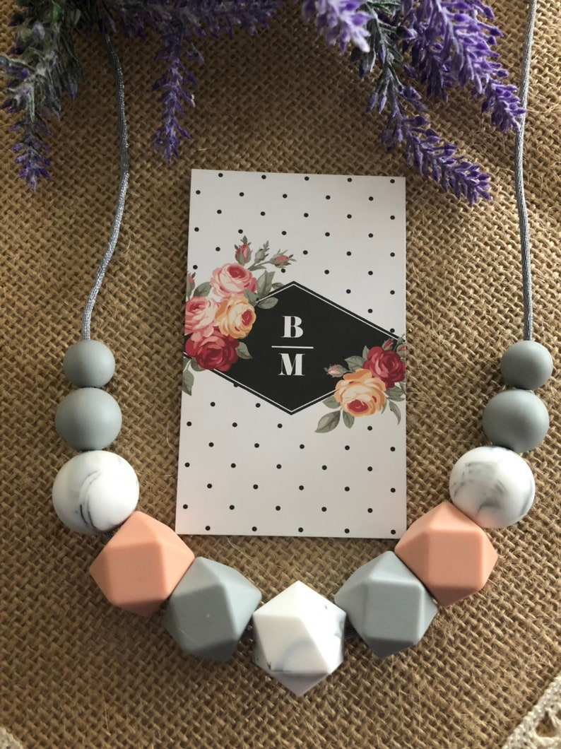 Silicone necklace Australia Gift jewellery for mum Former image 0