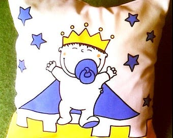 """""""Prince and Castle"""" Cushion cover"""