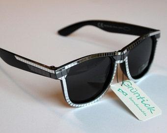 d1c6360326e Bling Bling Glasses-sunglasses Wayfarer with mirror mosaic studded