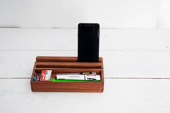 Organisateur de bureau bois berest mini étagère bureau etsy