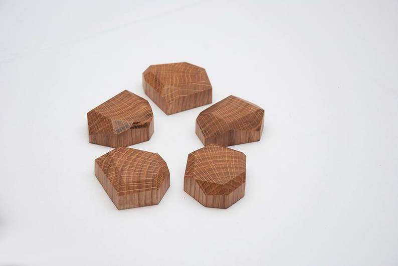 Oak Wood Magnets for the refrigerator Wooden Magnets Oak Wood Magnets for metal surfaces Magnets Hostess Gift