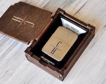 Anniversary Gifts For Men Personalized Zippo Lighter Gift Boyfriend Christmas Husband Birthday Him Mens