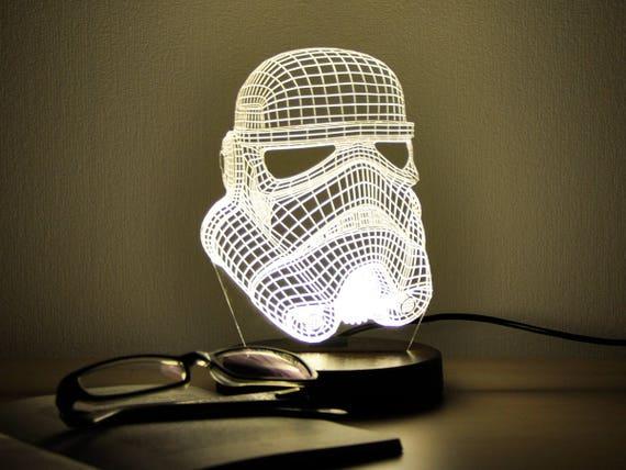 Stormtrooper Star Wars Night Light Table Lamp Christmas Gift For Men 3d Night Light Desk Lamp Led Night Light Personalized Gift Ideas