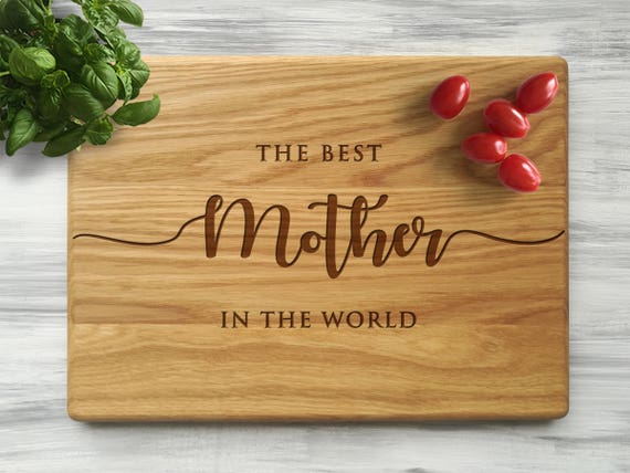 Mother Day Gift Ideas For Mom Custom Cutting Board Best