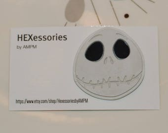 Jack Skellington Pin - Smiling (2nd Quality *Price Reduced*)