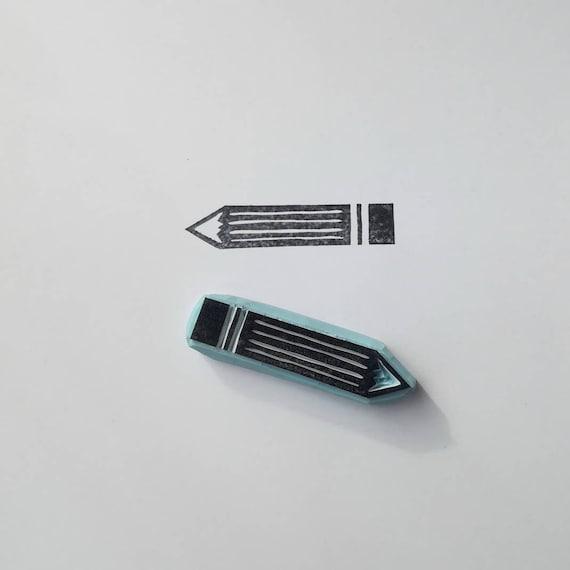 Bleistift Stempel Bleistift Stempel Lehrer Stempel Zuruck Etsy