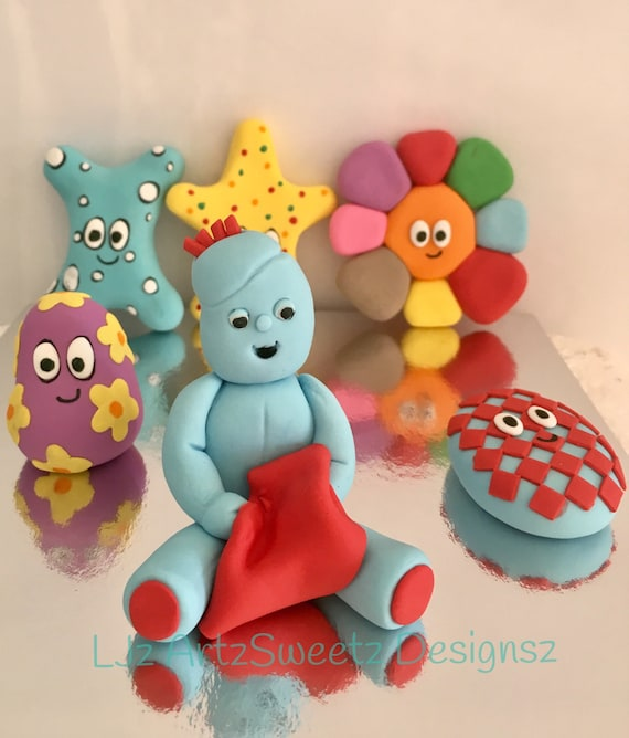 In The Night Garden Cake Topper Iggle Piggle Haaboos Cake