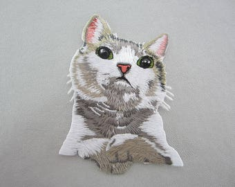 Iron On Patches, Cat Appliques
