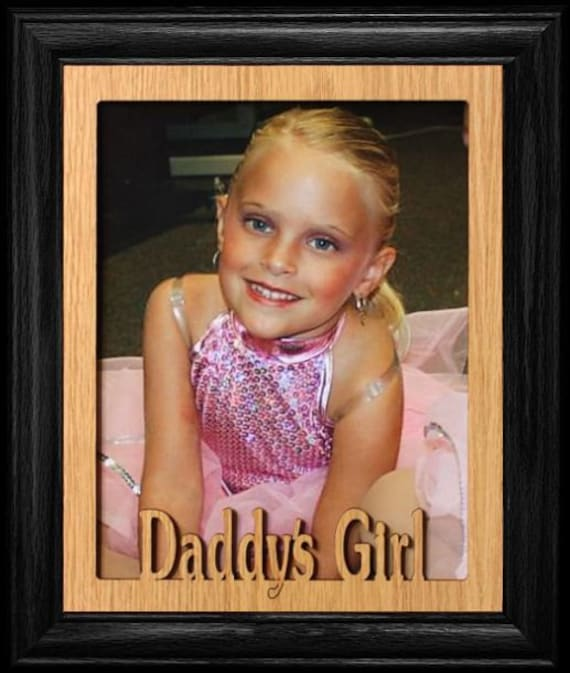 8x10 Daddys Girl Picture Frame Great Gift For Dad Etsy