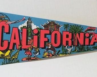 California - Vintage Pennant