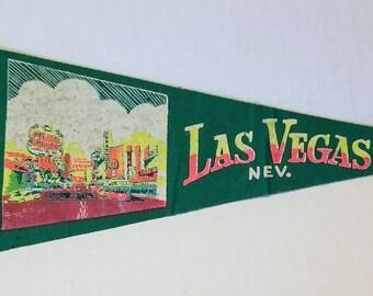 Las Vegas, Nevada - Vintage Pennant