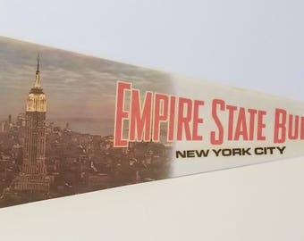 Empire State Building, New York City - Vintage Pennant