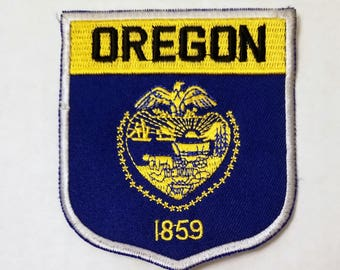 Oregon - Vintage Patch for Jackets, Backpacks, Jeans/Clothing, Costumes, Crafts