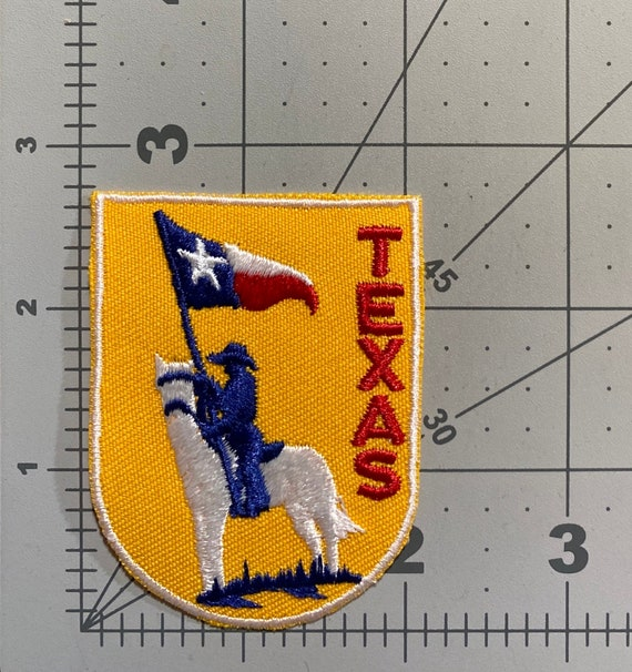 Texas - Vintage Patch for Jackets, Backpacks, Jean