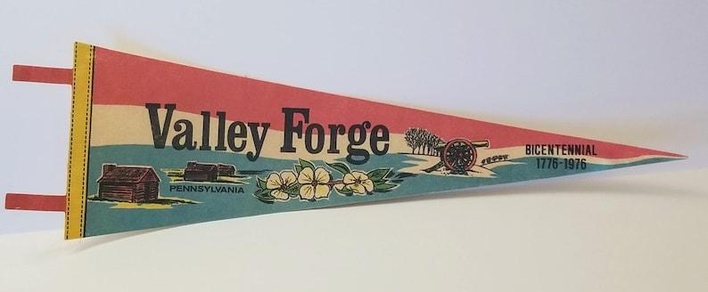 Pennsylvania Vintage Pennant Valley Forge