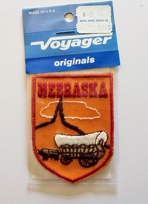 Nebraska - Vintage Patch for Jackets, Backpacks, J