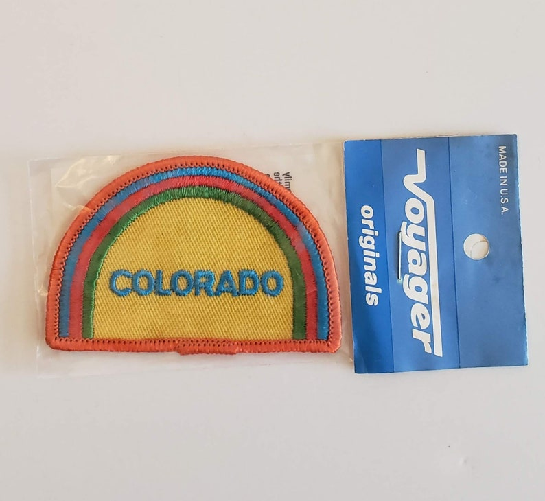 Colorado - Vintage Patch for Jackets, Backpacks, Jeans/Clothing, Costumes,  Crafts
