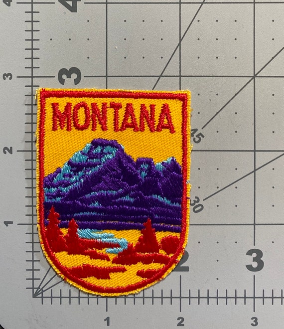Montana - Vintage Patch for Jackets, Backpacks, Je