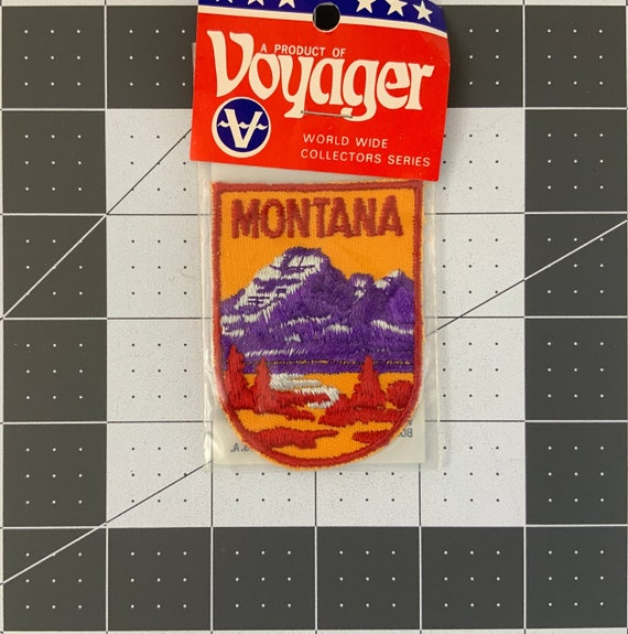 Montana - Vintage Voyager Patch for Jackets, Backp