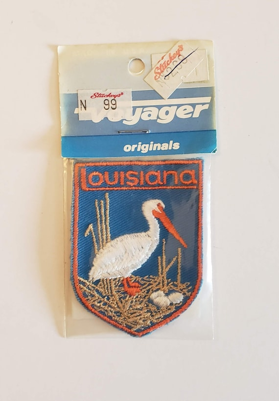 Louisiana - Vintage Patch for Jackets, Backpacks,