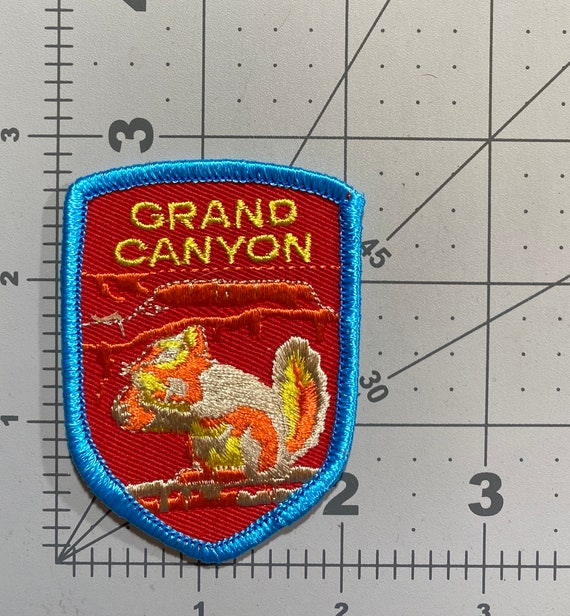Grand Canyon, Arizona - Patch for Jackets, Backpac